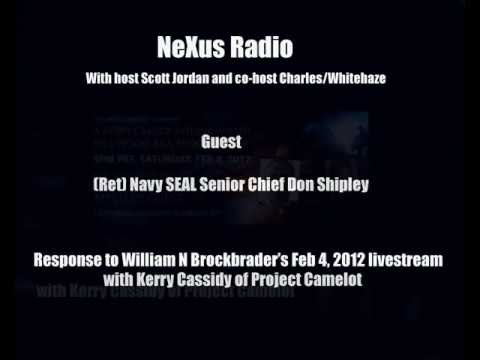 2/2 Nexus Radio Interview - ex Navy Seal Don Shipley - Response to William Brockbrader - Fake Seal