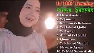 NISSA SABYAN  Lagu Sholawat TOP Trending Dari SABYAN Spesial Ramadhan 2018