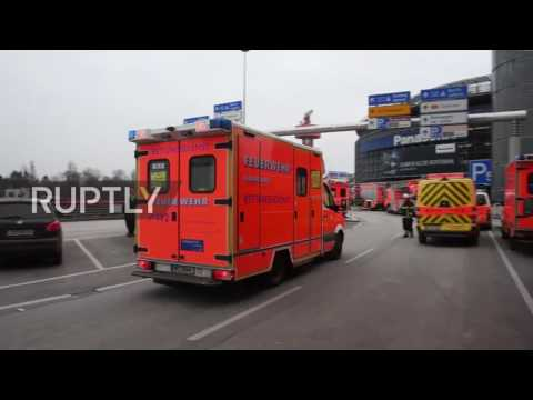 Germany: Emergency services rush to Hamburg airport following reported gas leak