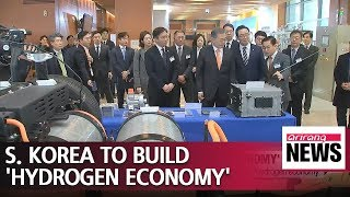 President Moon pledges to establish 'Hydrogen Economy'