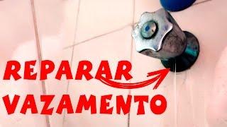 CONSERTAR VAZAMENTO DO REGISTRO DE CHUVEIRO/PRESSÃO