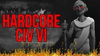 How to Play HARDCORE Civ VI