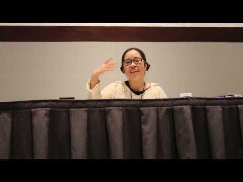 Stephanie Sheh  at Anime Boston 2018