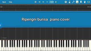 Ripengni burisa//Ennio marak//ft.Rc Rabie and Enosh Synthesia Piano cover