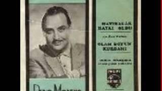 Dario Moreno-HATIRALAR HAYAL OLDU