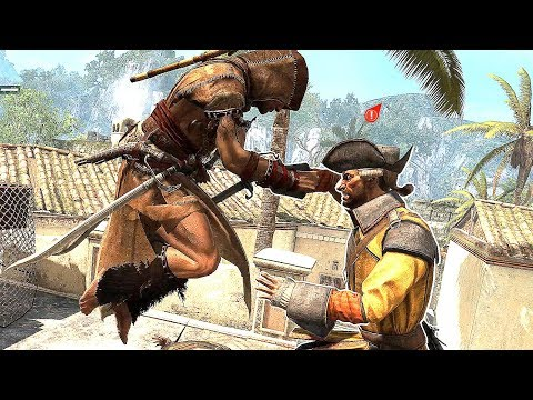 Assassin's Creed 4 Black Flag Stealth Outfit Exploration