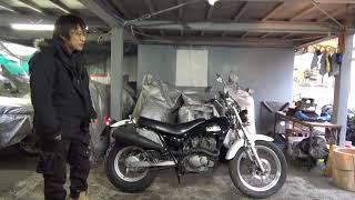 SUZUKIバンバン200:参考動画:車用タイヤチェーンがはけるかも?