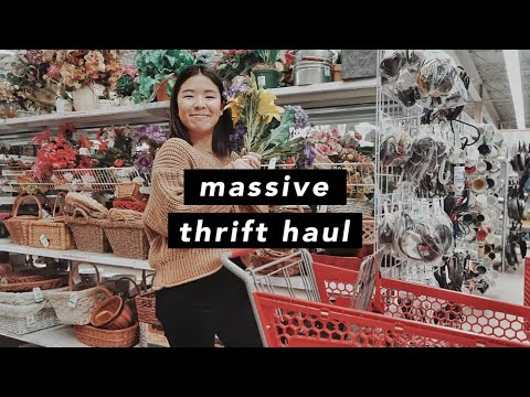 [VIDEO] - Massive Thrift with Me & Haul - DESIGNER FINDS 6