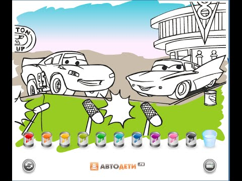 cars coloring pages for kids cars coloring pages games youtube Color Truck Games  Car Coloring Games Online