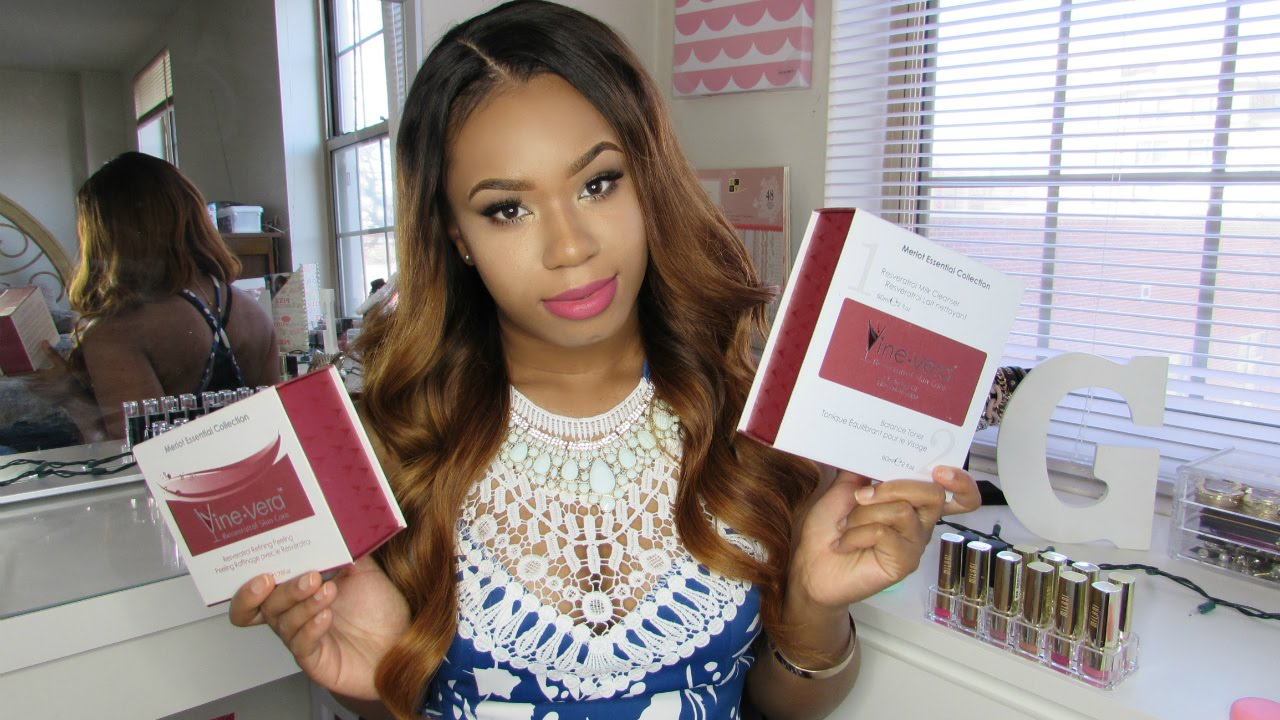 High End Skincare Is It Worth It Vine Vera Collection Review Youtube