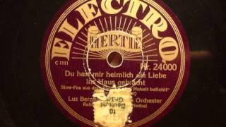 Luz Bernhardi - Du hast mir heimlich die Liebe ins Haus gebracht