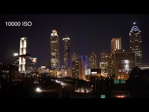 Sony A6000 Low Light Test