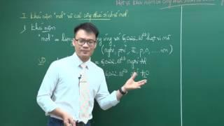 Một số khái niệm công thức tính cơ bản trong hóa học - Lớp 10 - Thầy Vũ Khắc Ngọc - Học tốt 10