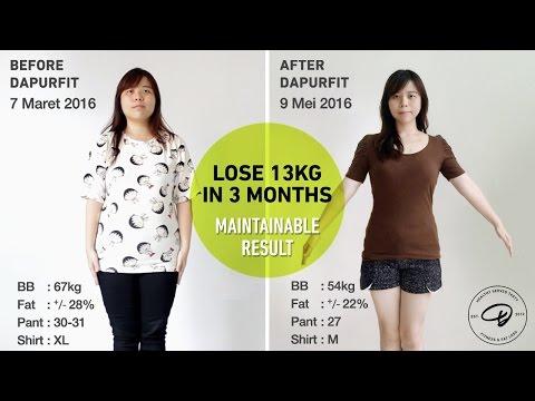 DOKUMENTARI DIET Fenny: Turun 13kg dalam 3 bulan dengan Dapurfit