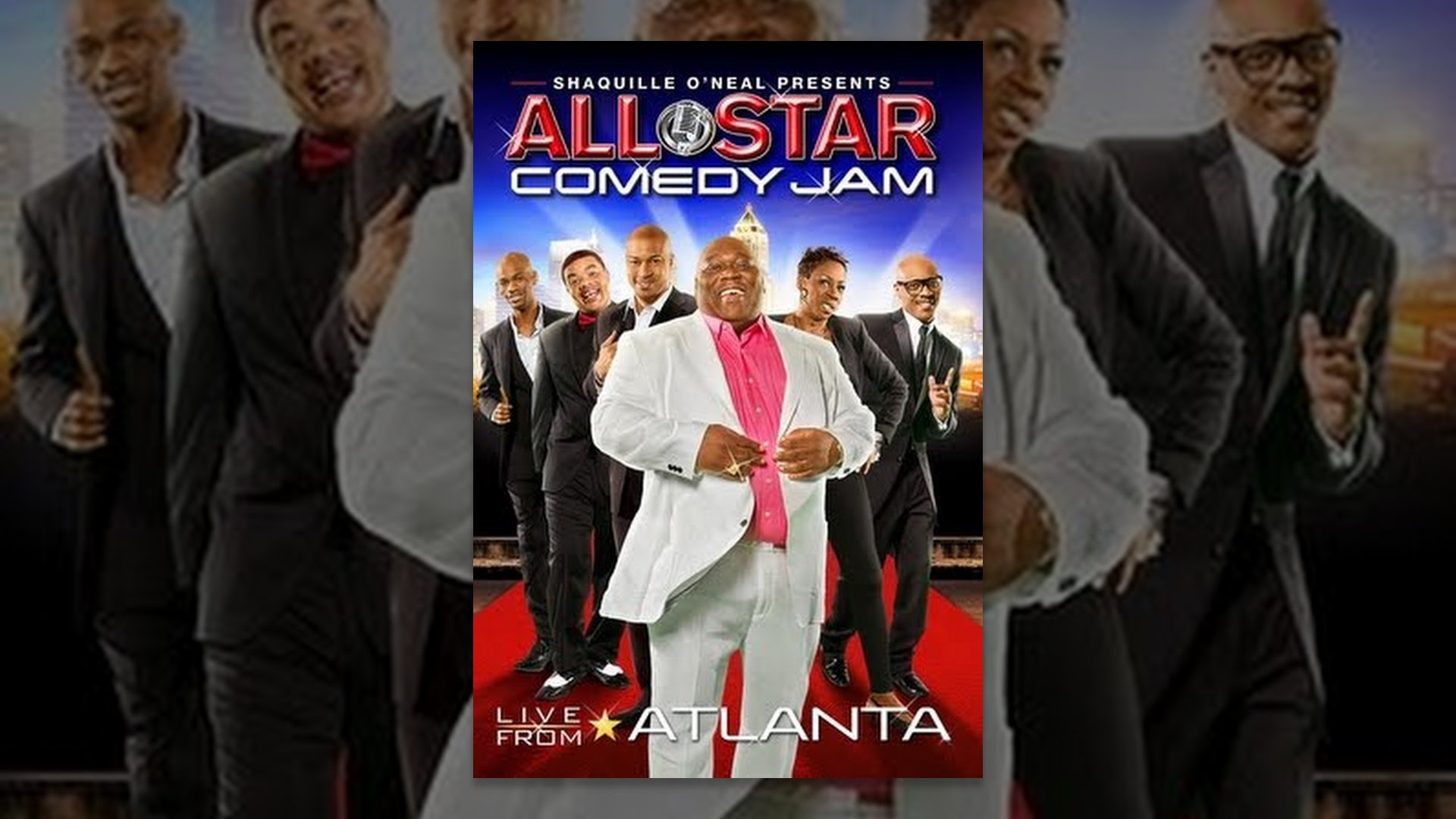 shaquille o 39 neal presents all star comedy jam live from. Black Bedroom Furniture Sets. Home Design Ideas
