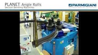 Section bending machine Planet rolling angle leg-out