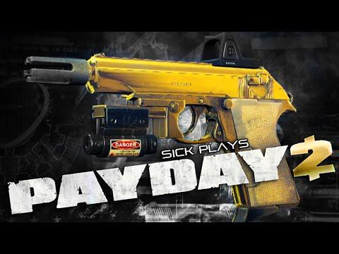 PAYDAY 2 Golden Gurber Kurz Pistol - Heist Goes Wrong - Big Bank Gameplay w/ SICK