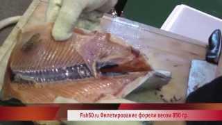 CHMF 801 филетировка красной рыбы 0,5-2 кг