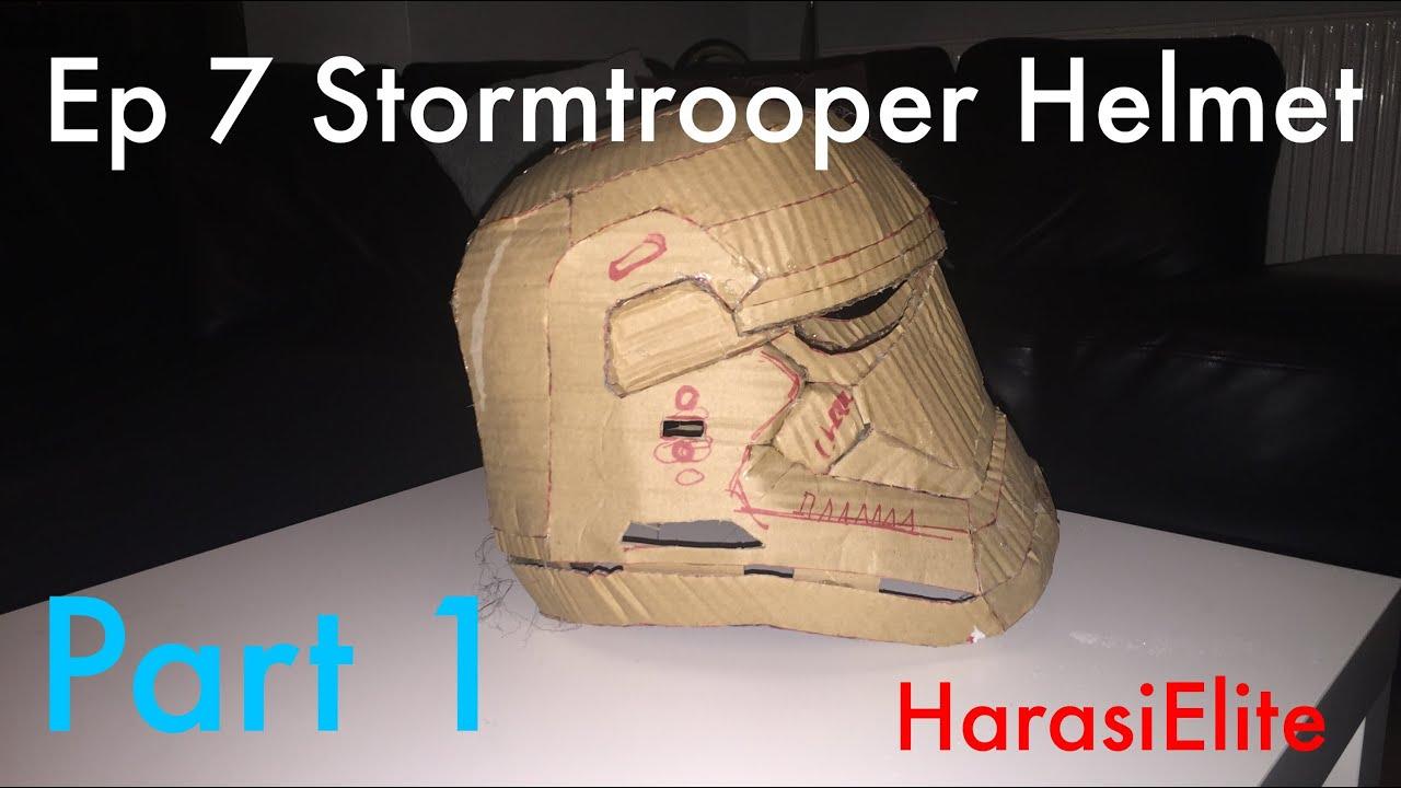 How To - Star Wars Episode 7 Stormtrooper Helmet - Part 1 - YouTube