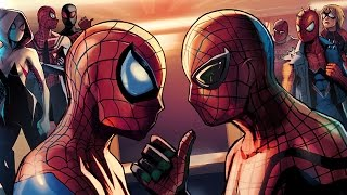The Spider-Verse Finale in Spider-Man Unlimited!