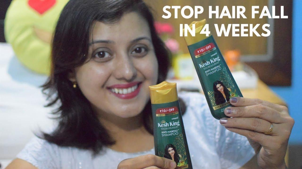 Stop Hair Fall In 4 Weeks | Best Herbal Anti Hair Fall ...