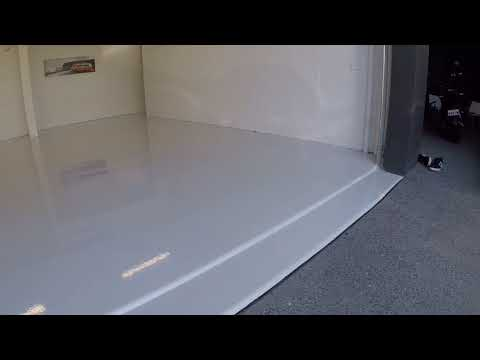 High Gloss Plain Coat Epoxy Floor Installation at Noosa Heads
