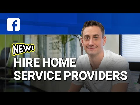 New! 🙀Hire Home Services Providers in Facebook! 🛠👷🏼‍♀️