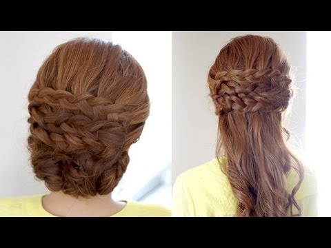 2in1 Braided Hairstyle Tutorial