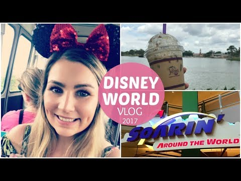 DISNEY WORLD VACATION VLOG SPRING 2017 DAY 4 PART 3 DAY AT EPCOT FLOWER & GARDEN SHOW