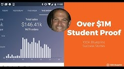 Over $1M Student Earnings Drop Shipping Products | 100K Blueprint Month