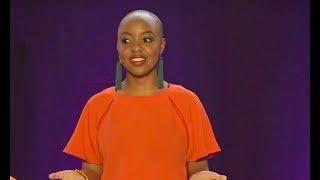 Slam poetry is building a dream world | Busisiwe Mahlangu | TEDxPretoria