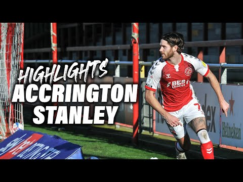 Fleetwood Town Accrington Goals And Highlights