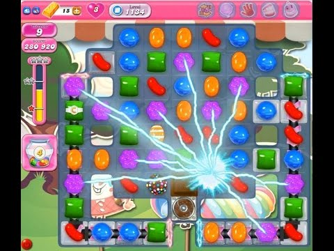 Candy Crush Saga Level 1134       NO BOOSTER