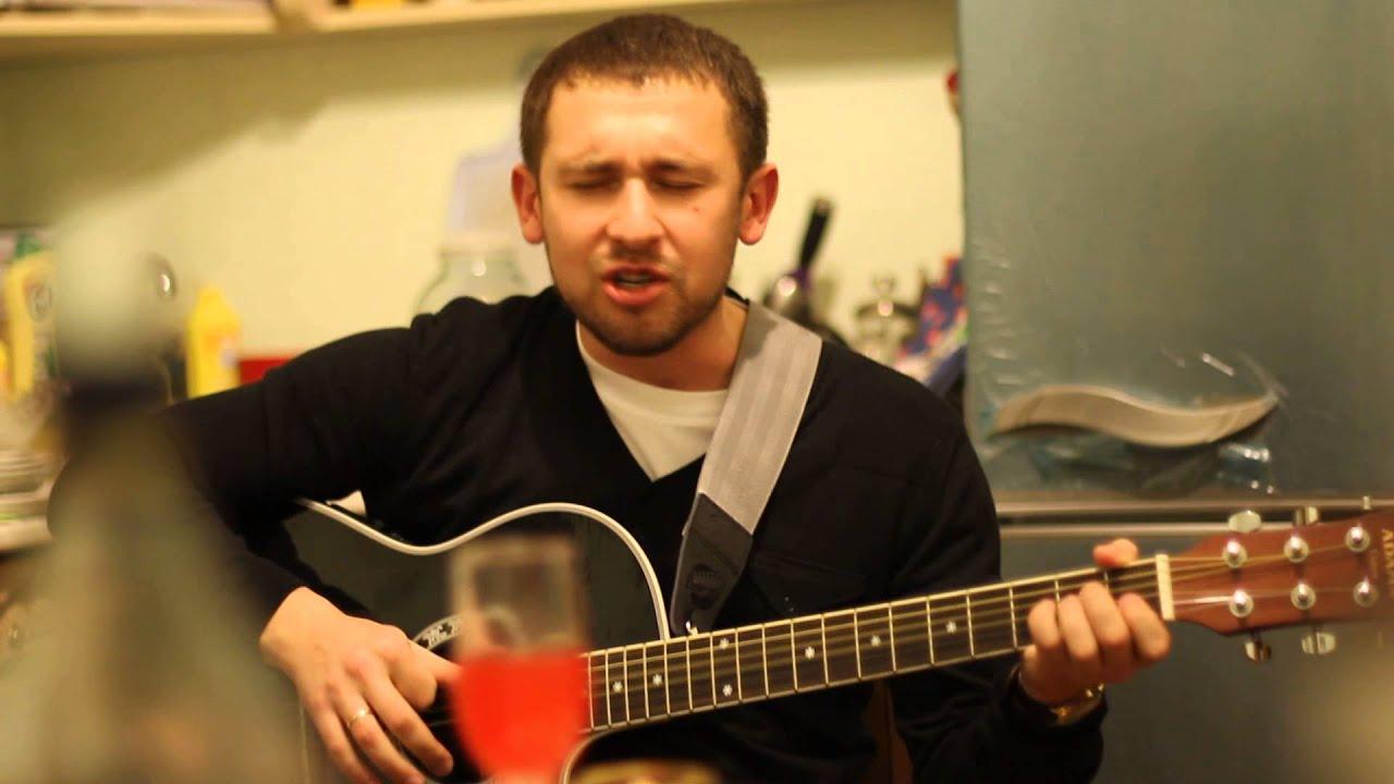 Сергей Есенин под гитару  Монгол Шуудан - Москва /Всё, теперь решено/Спел на кухне по просьбе друзей