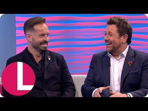 Cheeky Chappies Michael Ball and Alfie Boe Never Get Lonely Touring With Each Other | Lorraine