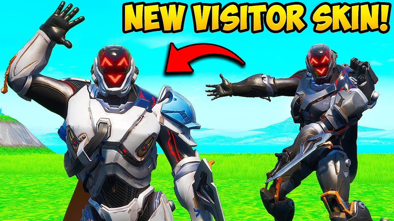 *NEW* VISITOR SKIN IS AMAZING!! Fortnite Funny Fails and WTF Moments! #706 thumbnail