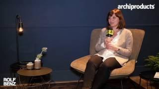 Imm Cologne 2017 | Rolf Benz - Bettina Hermann talks about the novelties from Rolf Benz
