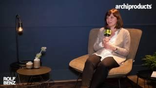 Imm Cologne 2017 | Rolf Benz - Bettina Hermann ci racconta le novità by Rolf Benz