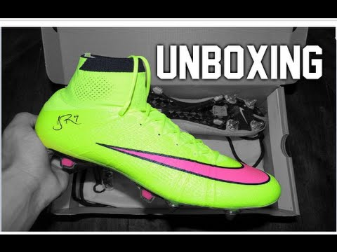 buy popular 52176 c9fc8 Nike Mercurial Superfly IV - Volt Hyper Pink (Highlight Pack) - Unboxing -  YouTube