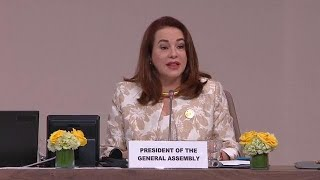 President of the General Assembly at the Global Migration Conference