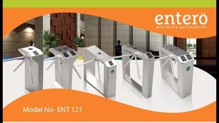 Gambar cover Tripod Turnstile Gates | ENTERO - Corporate Entrance Automation Solution