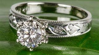 0.60 карат Золотое Кольцо с Природными Бриллиантами(, 2013-09-24T13:34:13.000Z)