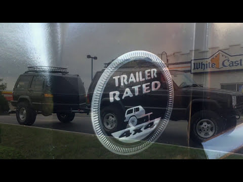 XJ Jeep Cherokee Trailer Build