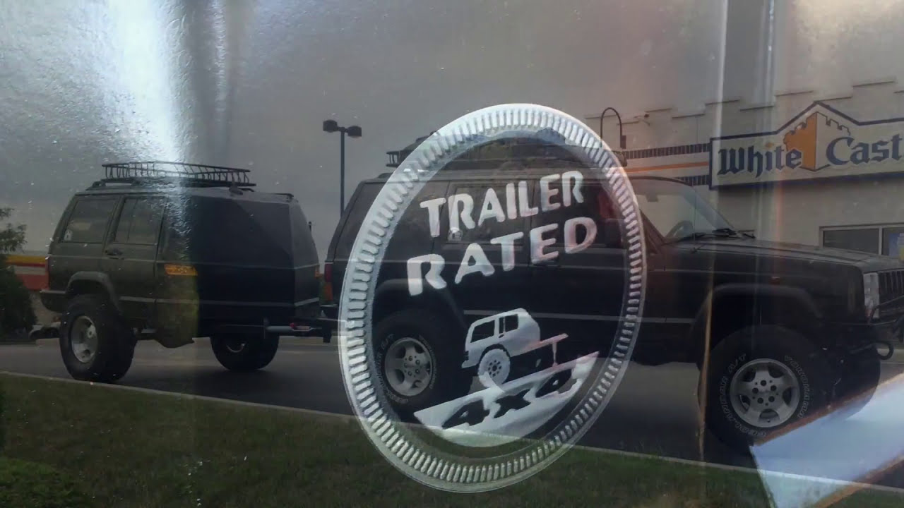xj jeep cherokee trailer build doovi. Black Bedroom Furniture Sets. Home Design Ideas