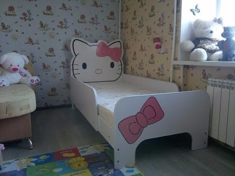 hello kitty furniture. DIY Hello Kitty Furniture Bedroom Set E
