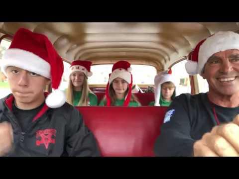 #SurfingSantas Carpool Karaoke @CocoaBeach