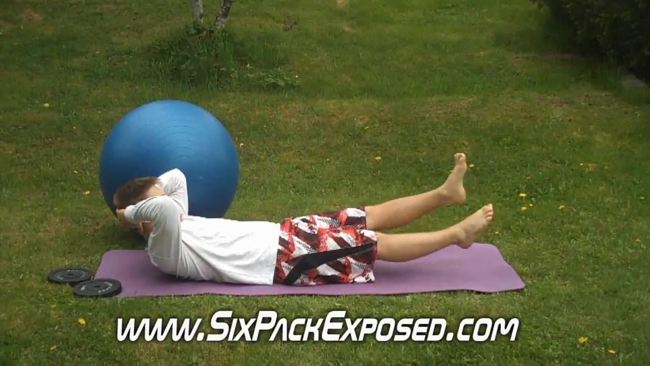 Lower Abs Exercises - Abdominal Flutter Kicks For Six Pack ...