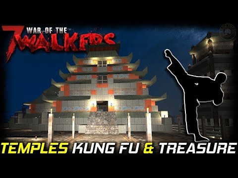 Kung Fu Treasures | WOTW MOD | 7 Days To Die Gameplay | EP2