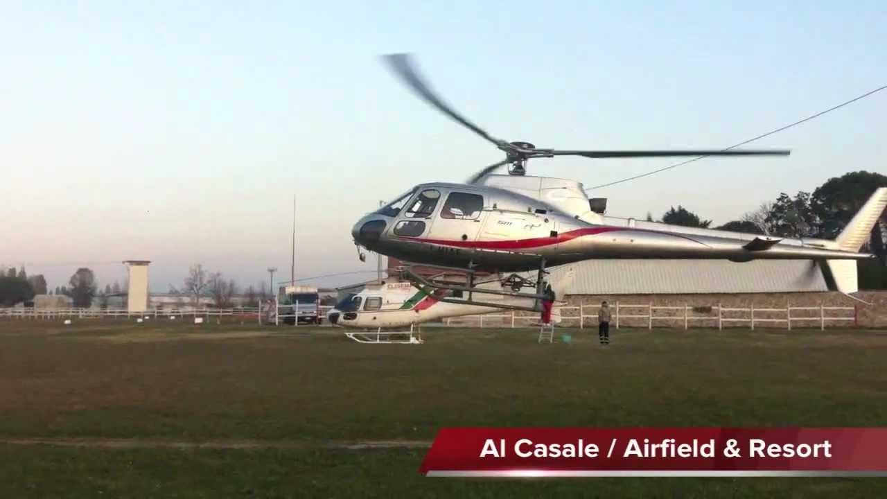 Elicottero R66 : As Écureuil landing atterraggio di elicottero as