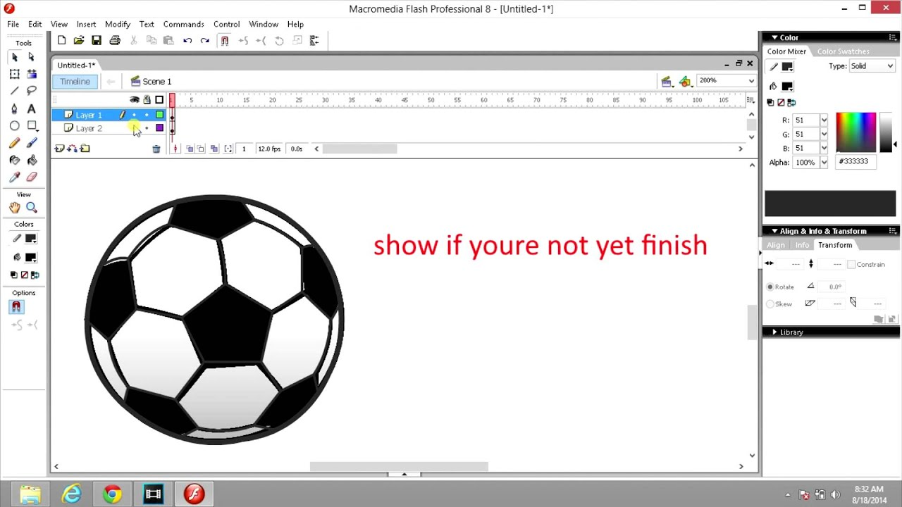 Free flash tutorial download.